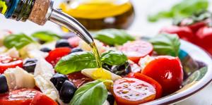 Салат с натуральным маслом